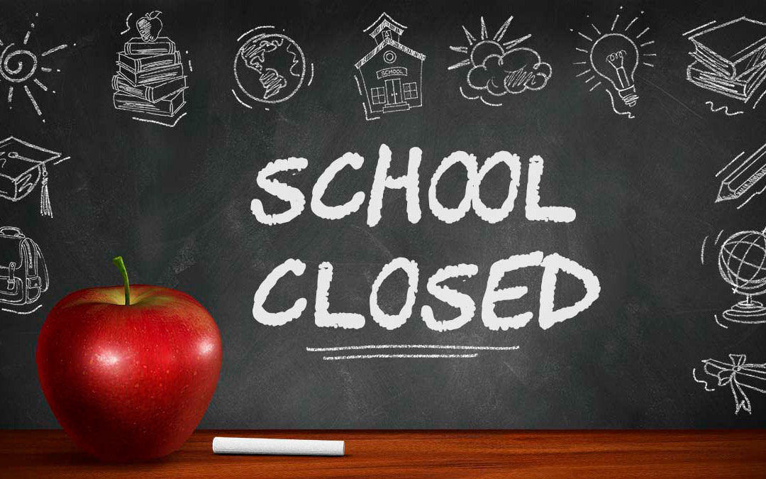 Effective 3/16-6/12 LAUSD schools closed!